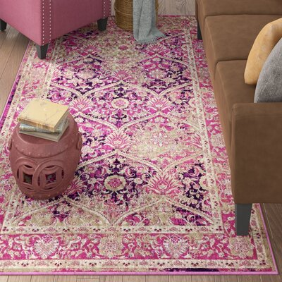 Hurst Lilac Area Rug Rug Size: Rectangle 5 x 8