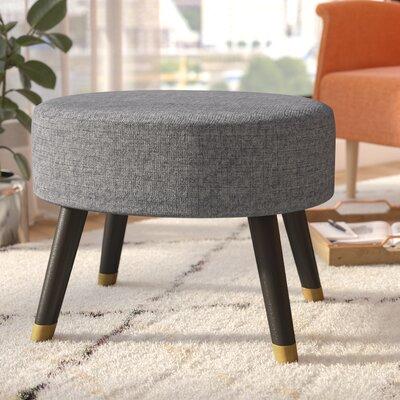 Moderna Mid-Century Ottoman Upholstery: Gray