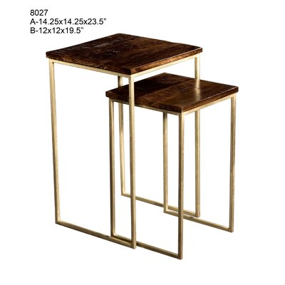 Eudora 2 Piece Nesting Tables
