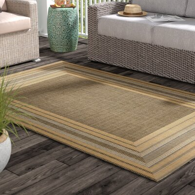 Clatterbuck Etched Gray Indoor/Outdoor Area Rug Rug Size: Rectangle 410 x 76