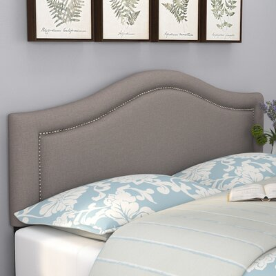 Ophiuchi Upholstered Panel Headboard Size: Full, Upholstery: Gray