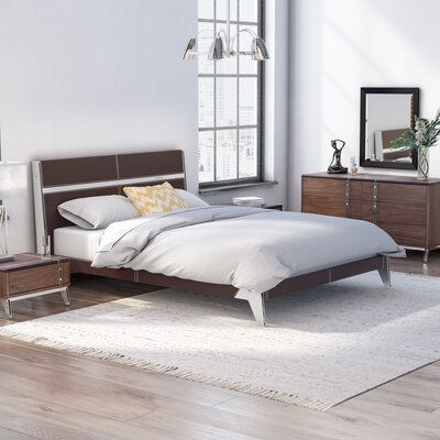 Dorian Platform 4 Piece Bedroom Set Size: Queen
