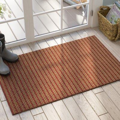 Clarisse Doormat Mat Size: 2 x 3