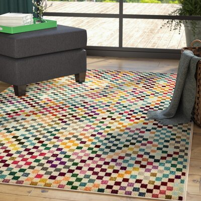 Chenango Yellow Area Rug Rug Size: Rectangle 5 x 8