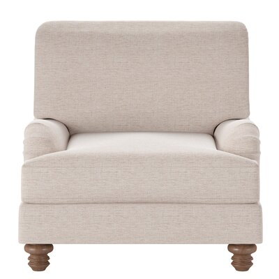 Delphine Armchair Body Fabric: Shack Biscuit