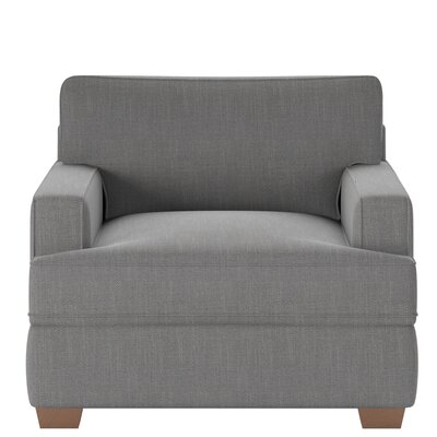 Avery Armchair Body Fabric: Conversation Cinder