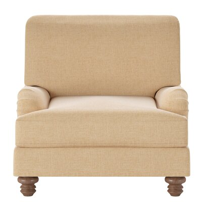Delphine Armchair Body Fabric: Trillion Saffron
