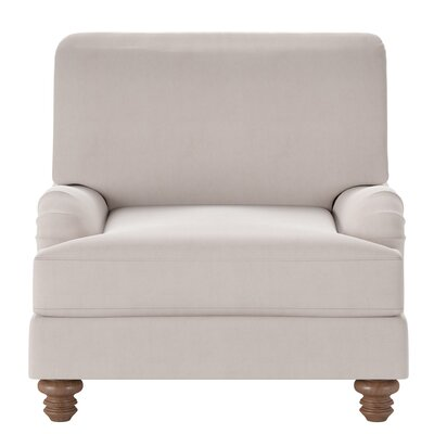Delphine Armchair Body Fabric: Tina Oyster