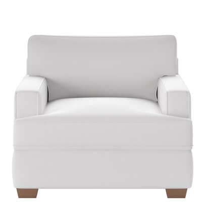 Avery Armchair Body Fabric: Spinnsol Optic White