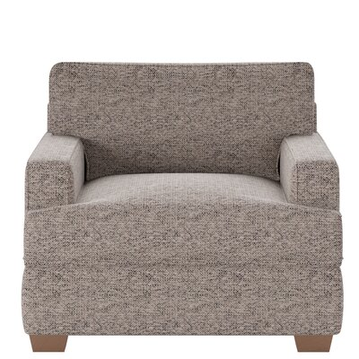 Avery Armchair Body Fabric: Marvel Stone