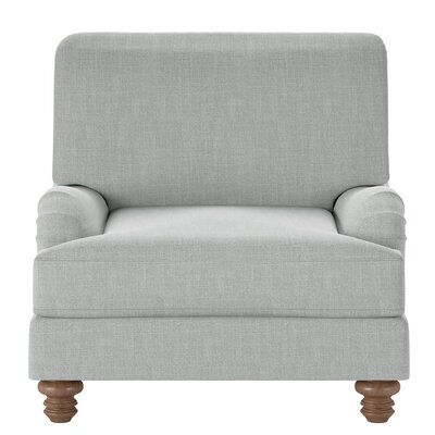 Delphine Armchair Body Fabric: Conversation Capri