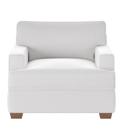 Avery Armchair Body Fabric: Glynnlinen Optic White