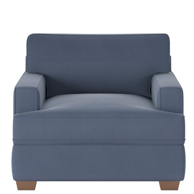 Avery Armchair Body Fabric: Spinnsol Navy