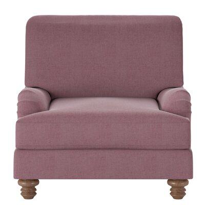 Delphine Armchair Body Fabric: Zula Oxblood