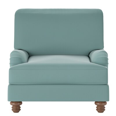 Delphine Armchair Body Fabric: Spinnsol Azure