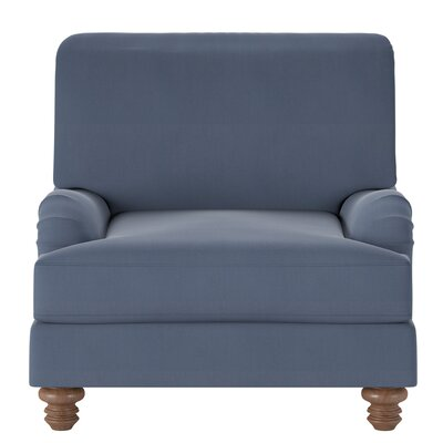 Delphine Armchair Body Fabric: Spinnsol Navy
