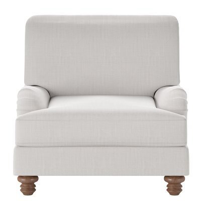 Delphine Armchair Body Fabric: Conversation Pearl