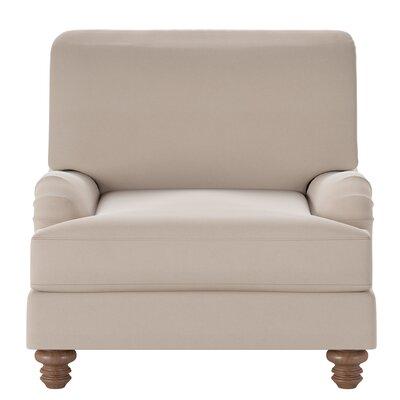 Delphine Armchair Body Fabric: Classic Khaki
