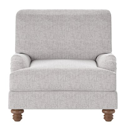 Delphine Armchair Body Fabric: Zula Pumice