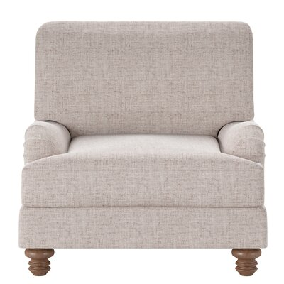 Delphine Armchair Body Fabric: Zula Linen