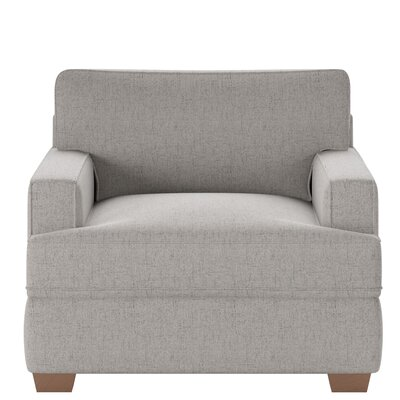 Avery Armchair Body Fabric: Lucas Ash