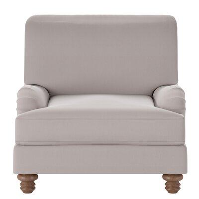 Delphine Armchair Body Fabric: Spinnsol Greystone