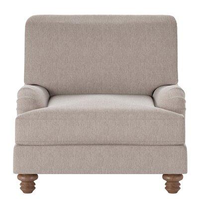 Delphine Armchair Body Fabric: Max Stone