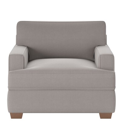 Avery Armchair Body Fabric: Classic Smoke