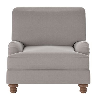 Delphine Armchair Body Fabric: Classic Smoke