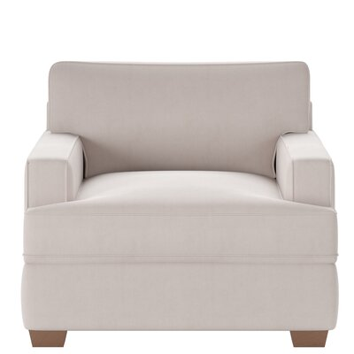 Avery Armchair Body Fabric: Tina Oyster