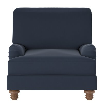 Delphine Armchair Body Fabric: Spinnsol Indigo
