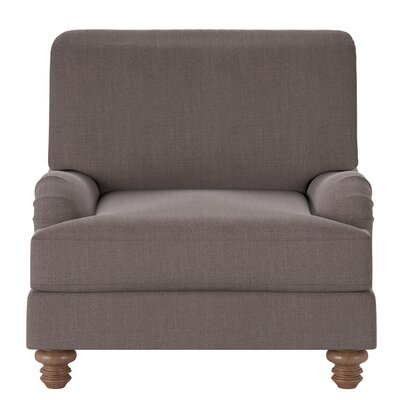 Delphine Armchair Body Fabric: Conversation Truffle