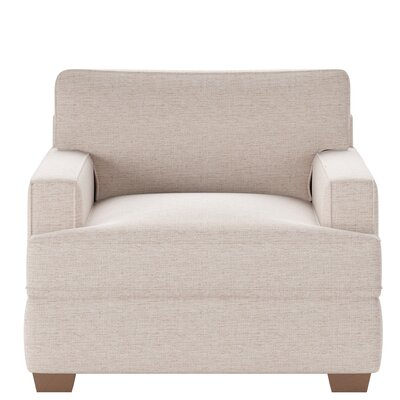 Avery Armchair Body Fabric: Shack Biscuit