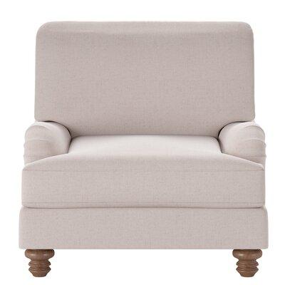 Delphine Armchair Body Fabric: Lizzy Linen