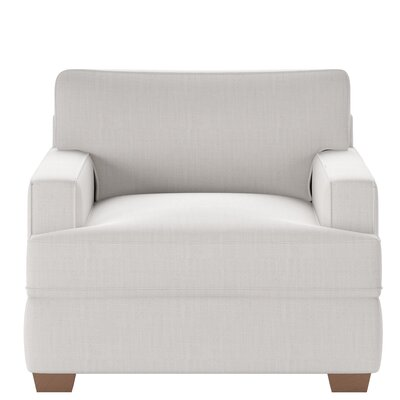 Avery Armchair Body Fabric: Conversation Pearl
