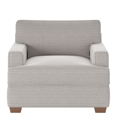 Avery Armchair Body Fabric: Calvin Moondust