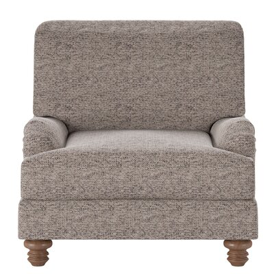 Delphine Armchair Body Fabric: Marvel Stone