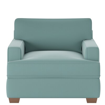 Avery Armchair Body Fabric: Spinnsol Azure