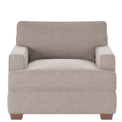 Avery Armchair Body Fabric: Max Stone