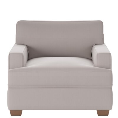 Avery Armchair Body Fabric: Spinnsol Greystone