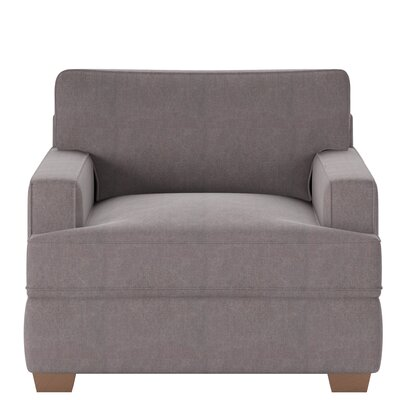 Avery Armchair Body Fabric: Tibby Pewter