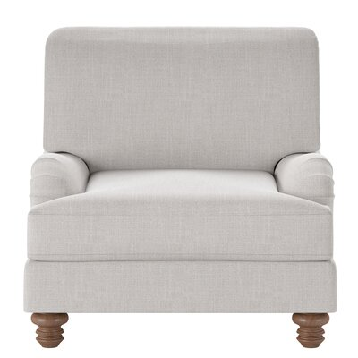 Delphine Armchair Body Fabric: Conversation Ivory