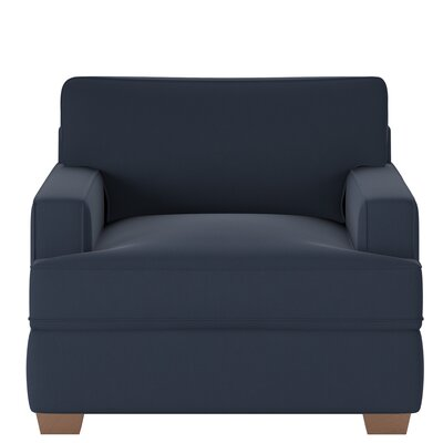 Avery Armchair Body Fabric: Spinnsol Indigo