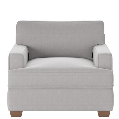 Avery Armchair Body Fabric: Glynnlinen Dove