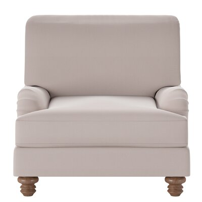 Delphine Armchair Body Fabric: Spinnsol Cocoa