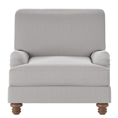 Delphine Armchair Body Fabric: Glynnlinen Dove