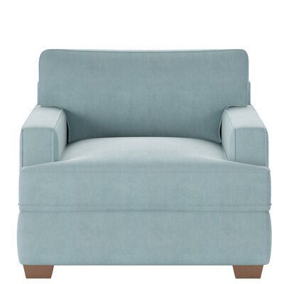 Avery Armchair Body Fabric: Tina Airforce