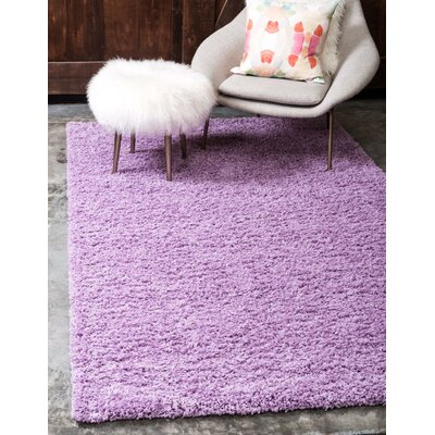 Madison Lilac Area Rug Rug Size: Rectangle 7 x 10