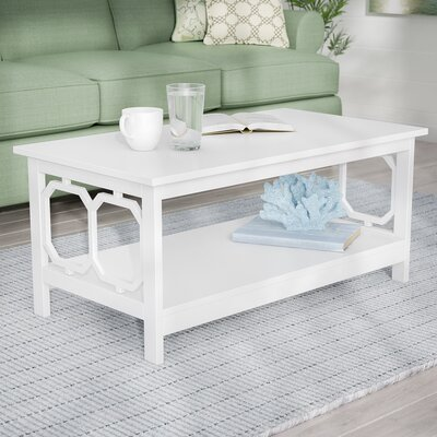 Ardenvor Coffee Table Color: White