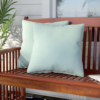 Livia Indoor/Outdoor Sunbrella Throw Pillow Size: 18 H x 18 W x 6 D